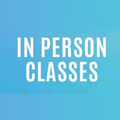 in person classes